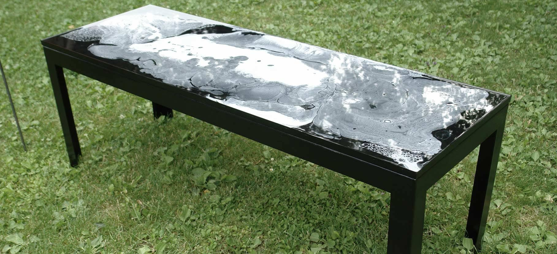 Resin bench philipp aduatz